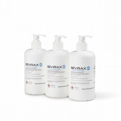 Gel Hydroalcoolique 85 Gevirax 500ml x3